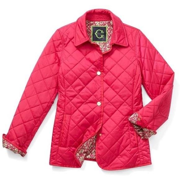 C. Wonder Jackets & Blazers - C Wonder Pink Quilted Barn Jacket